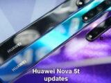 Huawei Nova 5t erhält Updates