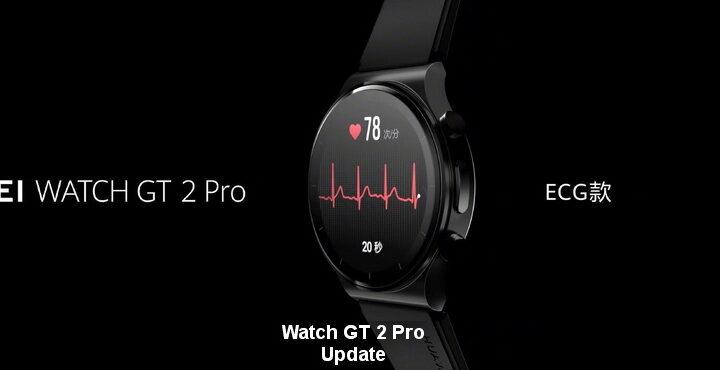 Watch GT 2 Pro, Neues Update veröffentlicht