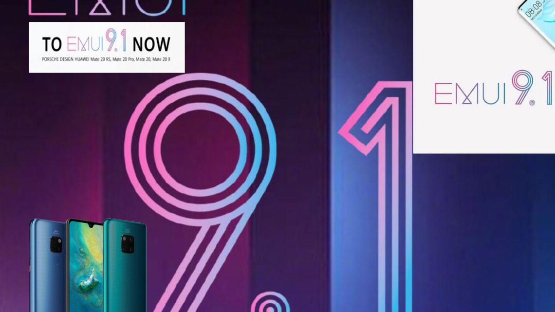 Huawei EMUI 9 1 Update Phones   Huawei New OS