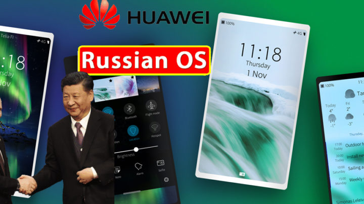 Huawei Starts Negotiations With Russia for Aurora Operating System