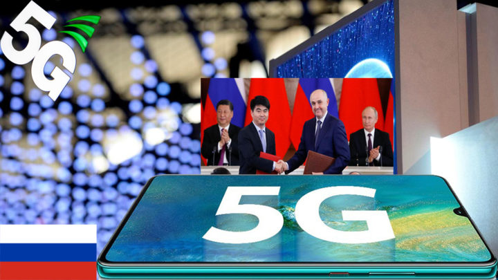 Huawei Will Build 5G Network for Russia