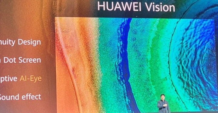 Honor Tv, Huawei Introduces Huawei Vision 4K Television