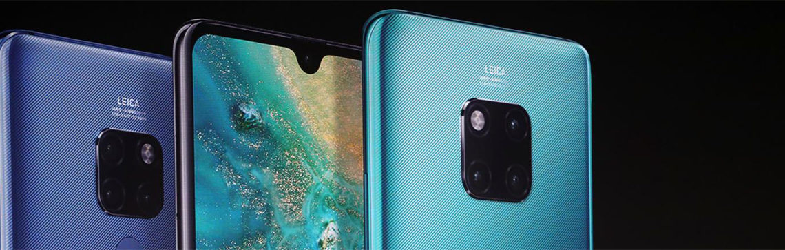 Huawei Mate 30 and Mate 30 Pro video