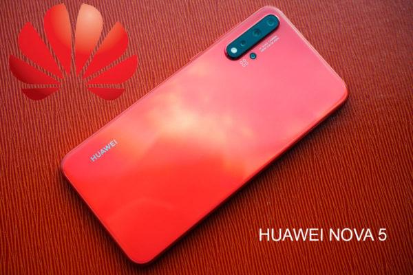 Huawei Emui10 Nova 5