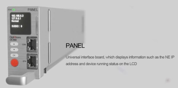 OptiXtrans DC908 panel