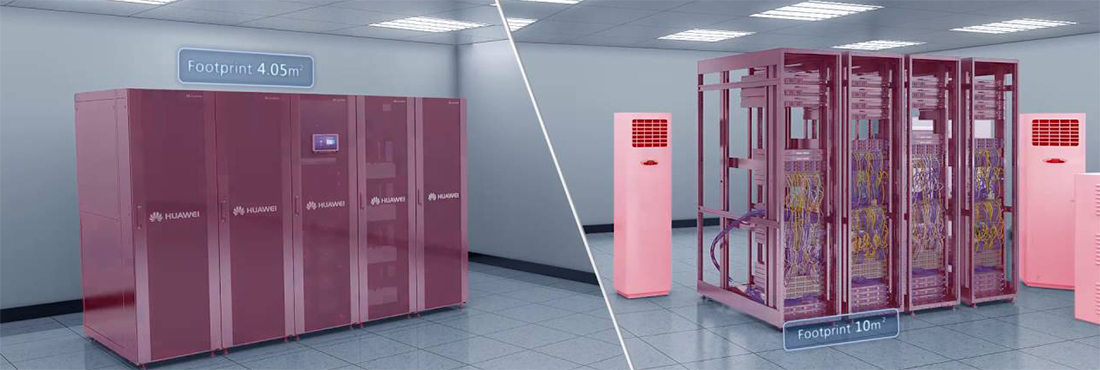 """Huawei, the intelligent data center """"FusionModule 800"""""""