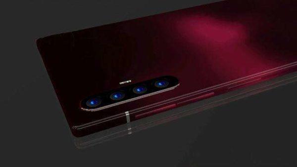 Huawei P40 Pro Red