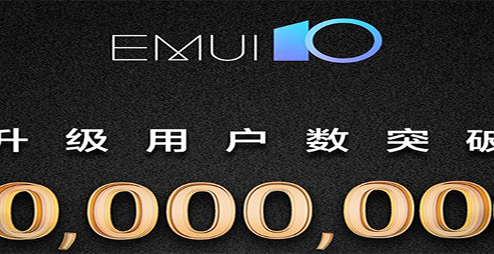 Huawei Emui 10 uploaded 10 million users
