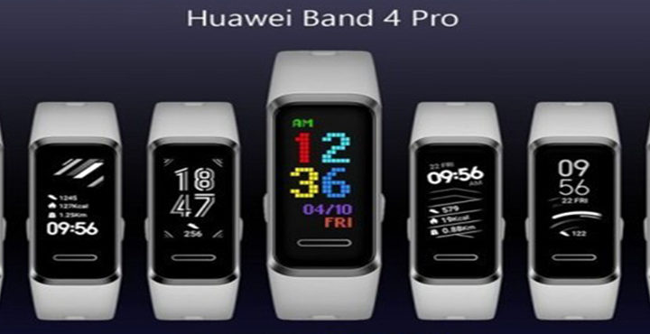 Huawei Band 4 Pro introduced