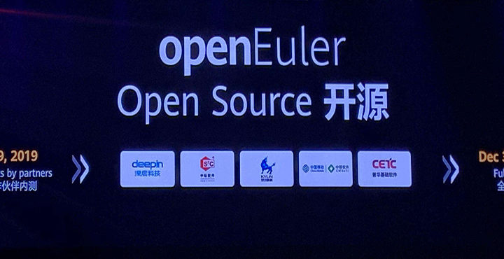Huawei Operating System Releases openEuler