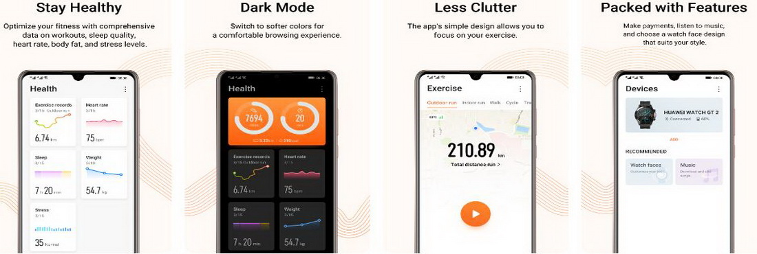 Download Huawei Health 10.1.1.521 APK Update