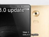 Huawei Mate 8 EMUI 8.0 update surprise