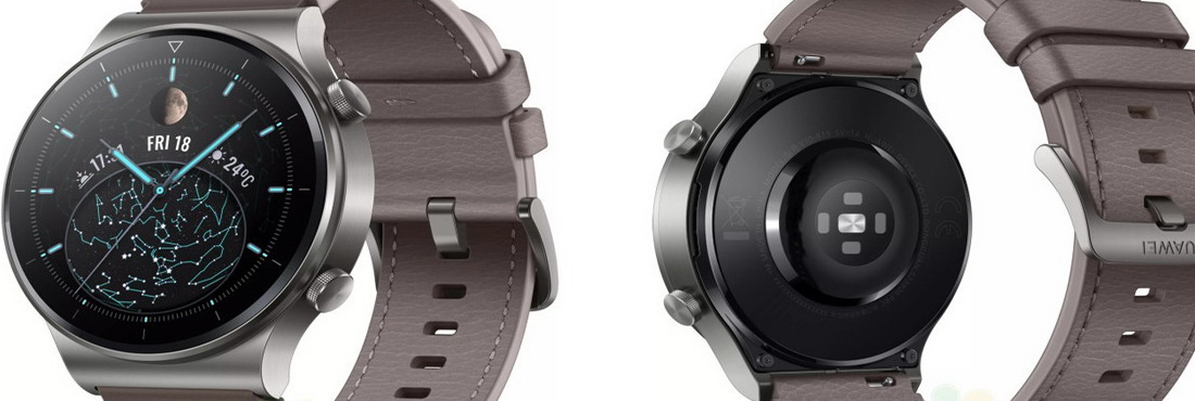 Huawei Watch GT2 Pro Render Image