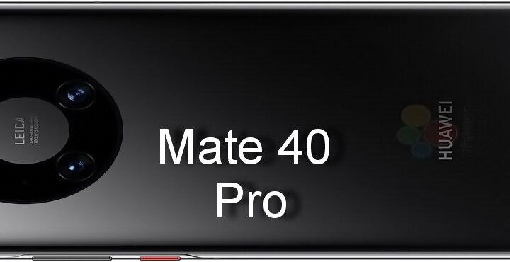 Huawei Mate 40 Pro, Render Images