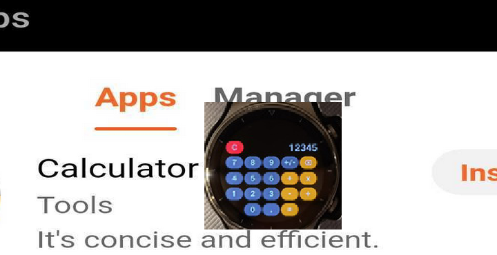 Huawei Watch GT 2 Pro Calculator App