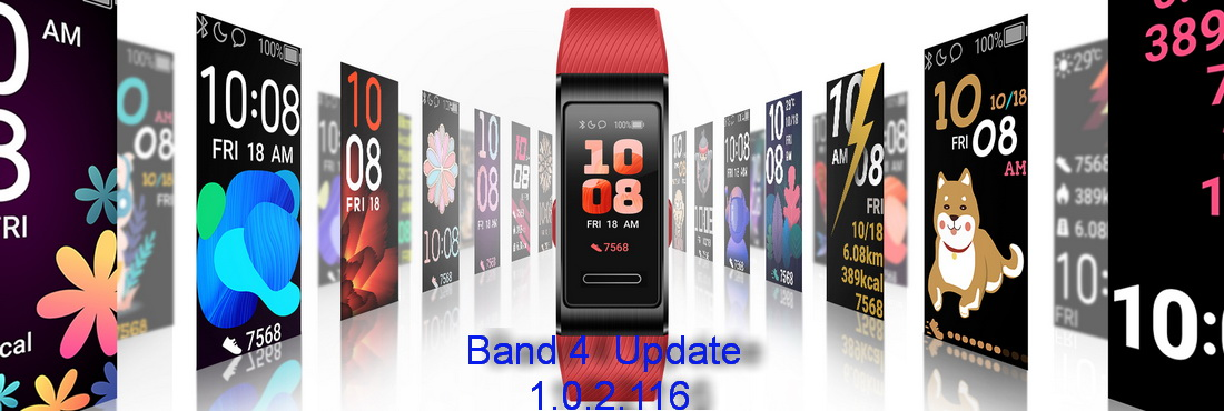 Huawei Band 4 New Update 1.0.2.116