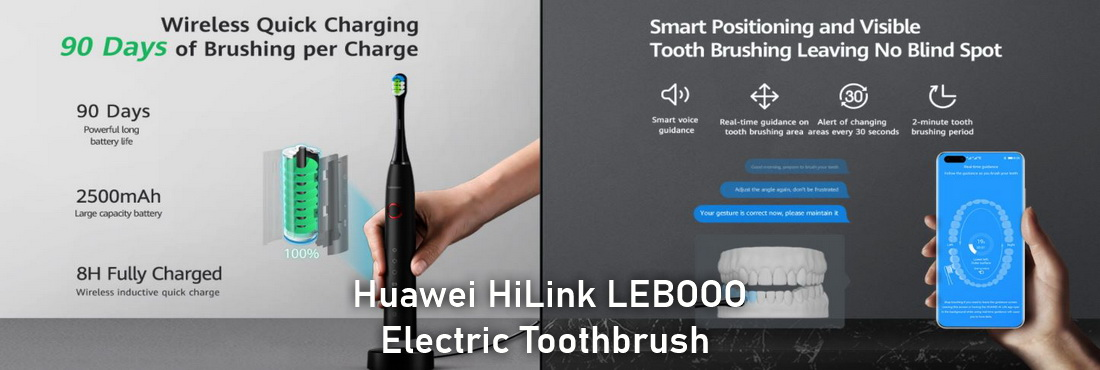 Huawei Electric Toothbrush price and features, Huawei HiLink LEBOOO