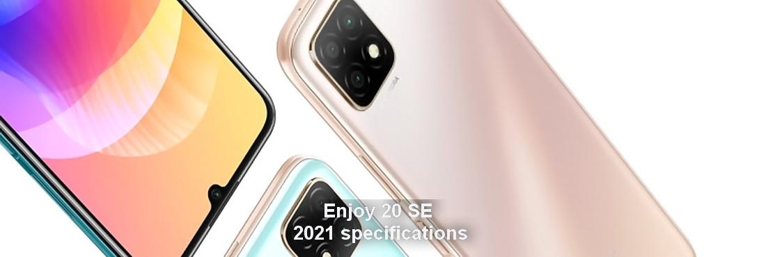 Huawei Enjoy 20 SE 2021 specifications were leaked.