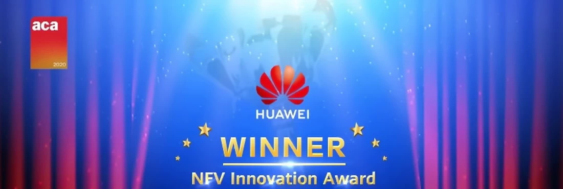 Huawei wins NFV Innovation Award at 2020 Asia Communication Awards