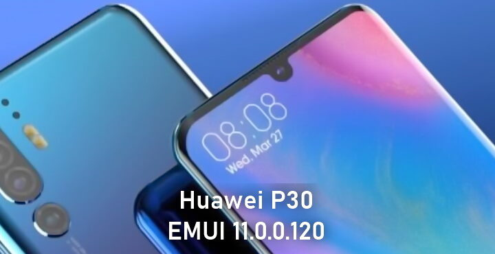 EMUI 11.0.0.120 update for Huawei P30 series released, flash file transfer feature