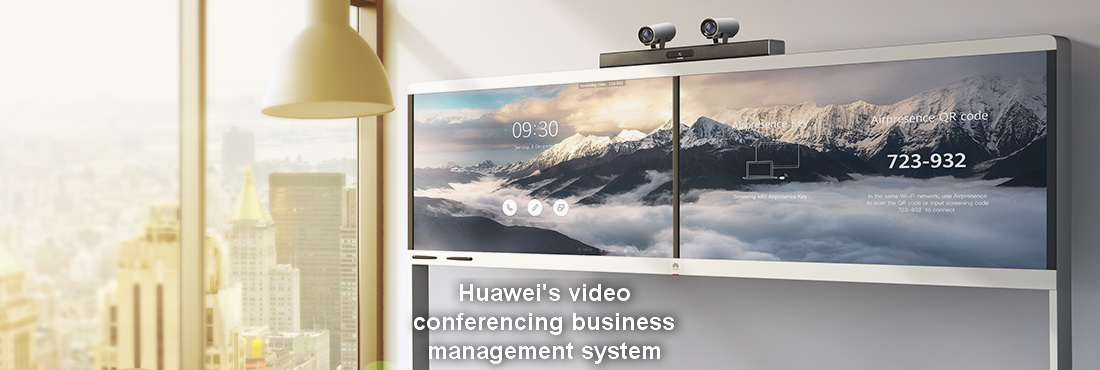 Huawei's video conferencing business management system security update