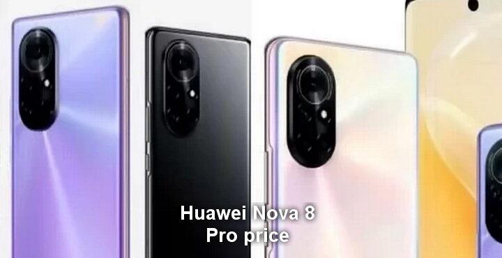 Huawei Nova 8 price