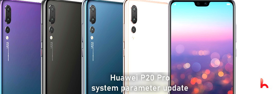 Huawei P20 Pro 2021 system parameter update