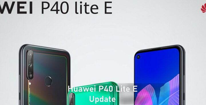 Huawei P40 Lite E received Update, update 10.1.0.164