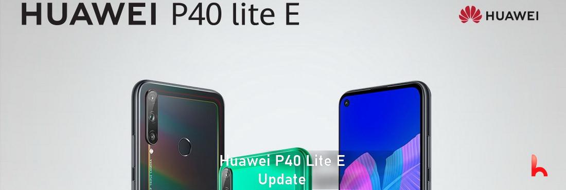 Huawei P40 Lite E received Update, update 10.1.0.164