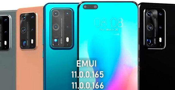 Huawei update EMUI 11.0.0.165 / 166 Changlian large file flash transmission