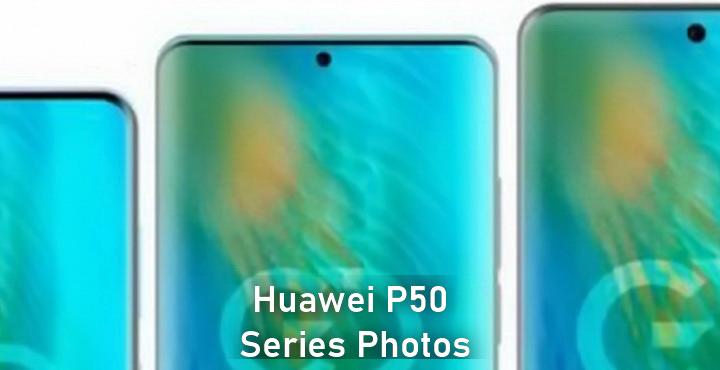 Huawei P50 Series Photos Leaked