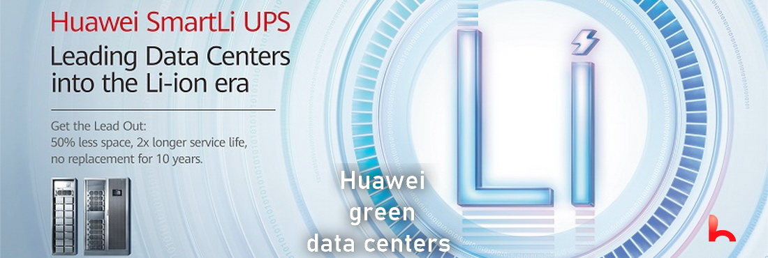 Huawei is helping build green data centers. Artificial intelligence