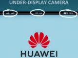 Huawei under-display camera patent application