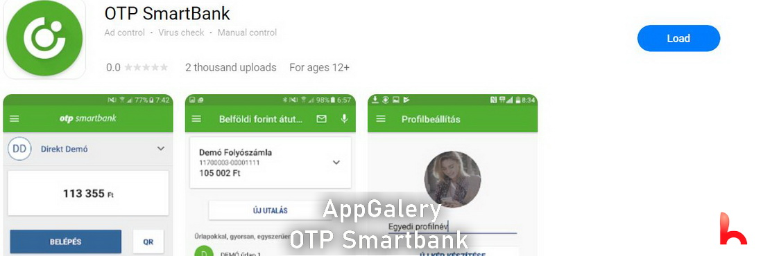 OTP Smartbank added to Huawei AppGallery