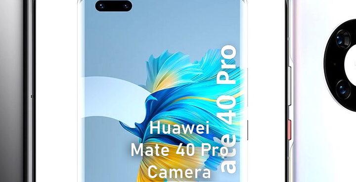 Huawei P50 rear camera looks like Mate 40 triple camera