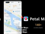 Google Maps alternative Petal Maps