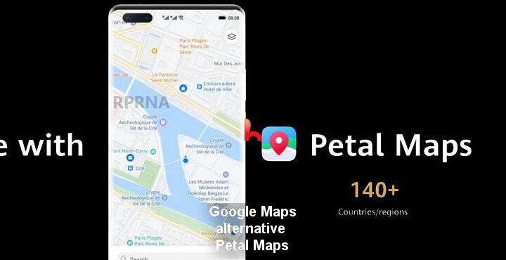 Google Maps alternative Petal Maps