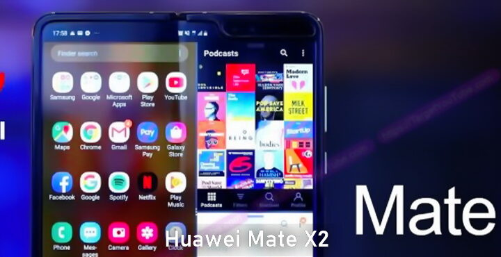 Huawei Mate X2 folding design launch postponed