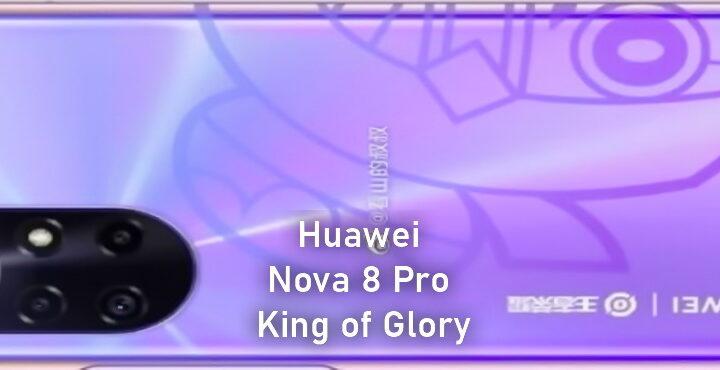 "Huawei Nova 8 Pro King of Glory Customized Edition Luban ""8"" to be introduced on January 11"