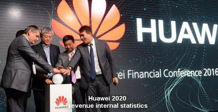 Huawei 2020 revenue internal statistics
