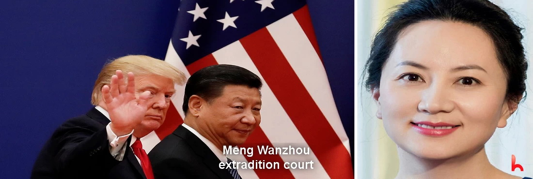 Trump allegedly intervened in Meng Wanzhou's extradition case