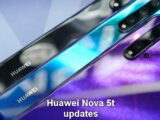 Huawei Nova 5t receives updates
