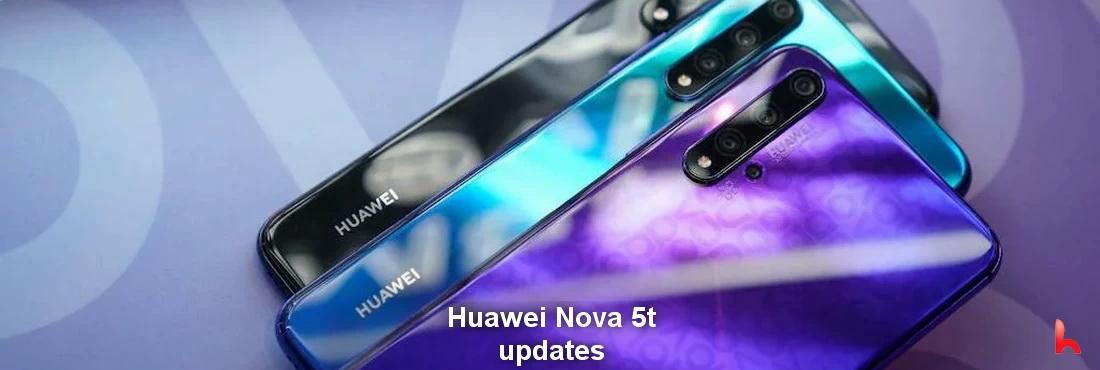Huawei Nova 5t receives updates
