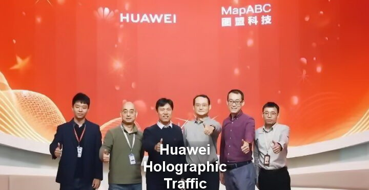 Huawei improves urban traffic management with holographic intersections
