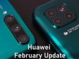 Huawei February Update list