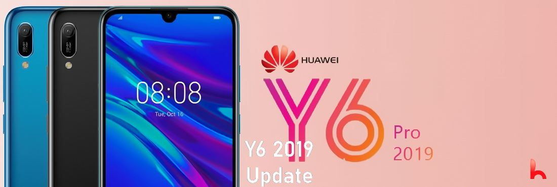 Huawei Y6 Update ready to install, version 9.1.0.374