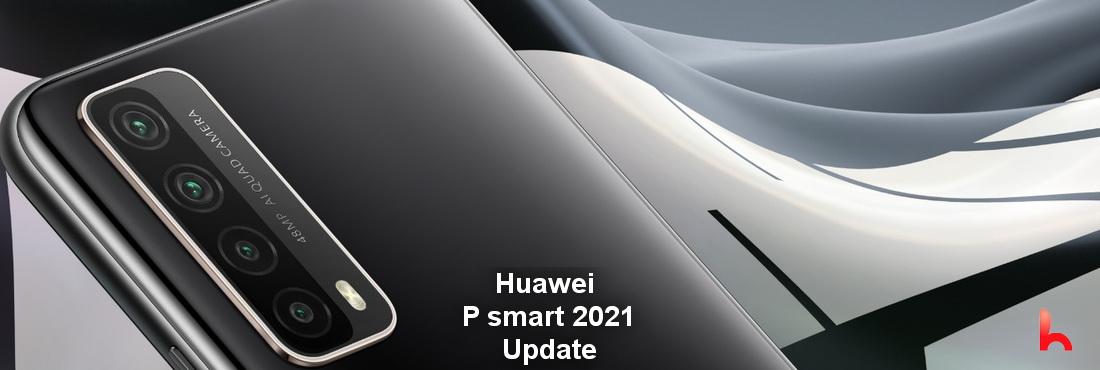 Huawei P smart 2021 new update, 10.1.1.166 update released