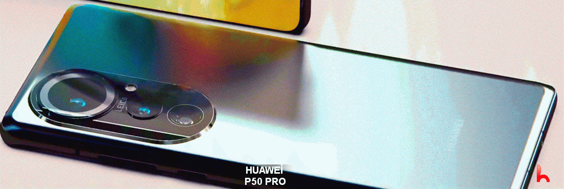 Huawei P50 Pro's appearance revealed