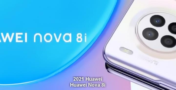2021 Huawei Nova 8i, 64 MP quad camera, Hongmeng OS2.0