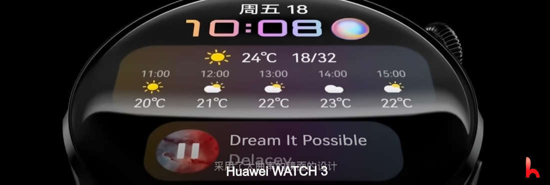 Huawei Watch 3 released, features and price